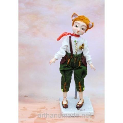 Doll Pup-fox Marvel, BJD. Author Svetlana Gomenyuk - http://arthandmade.net/gomenuk.svetlana  Doll, ball-jointed doll, BJD, collectible doll, handmade doll, gift, originalgift, craft, handmade, collection, Gallery Magical World, кукла, купить куклу, шарнирная кукла, коллекционная кукла, кукла ручной работы, подарок, оригинальный подарок, ручная работа, коллекция, Галерея Волшебный мир