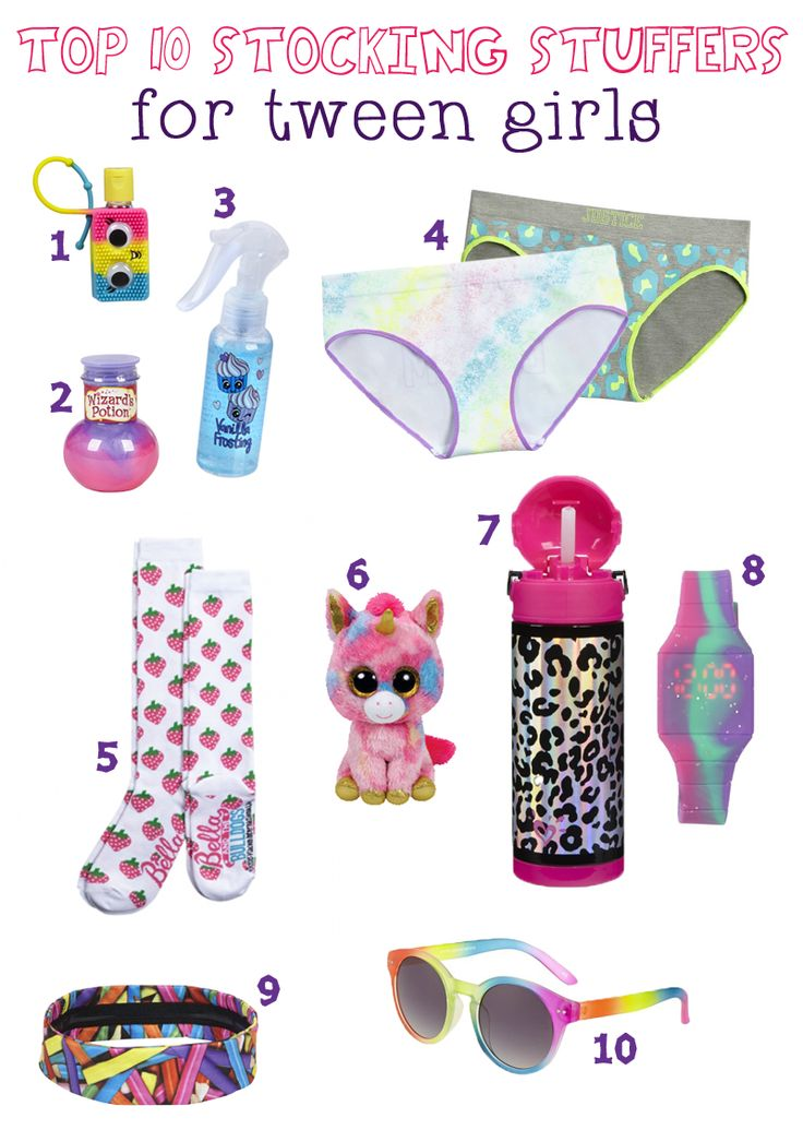 Top 10 Holiday Stocking Stuffers For Tween Girls #JusticeWishes #JusticeHolidays