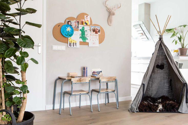 Speelhoek bij Sjoerd en Cassandra uit aflevering 3, seizoen 5 | Weer verliefd op je huis | Make-over door: Marianne Luning | Fotografie Barbara Kieboom