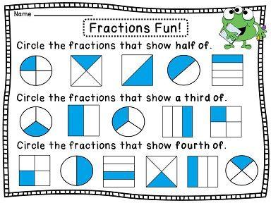 math worksheet : 1000 images about breuken on pinterest  fractions worksheets  : Identify Fractions Worksheet