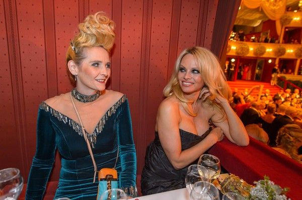 Pamela Anderson Photos - Celebs at the Grand Hotel in Vienna - Zimbio