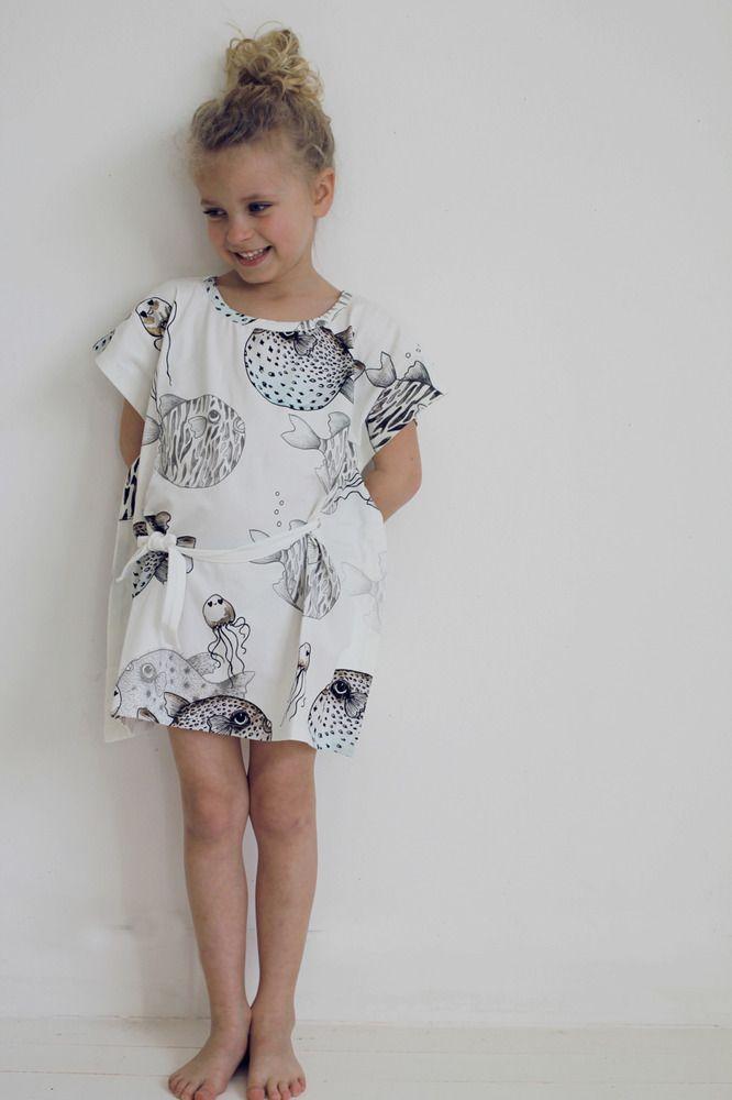Fish dress #kids #designer #fashion