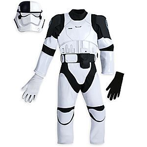 Fit for the First Order, your little one will suit up and be ready for galactic missions in our <i>Star Wars: The Last Jedi</i> Judicial Stormtrooper Costume, complete with helmet mask, suit, removable belt and gloves.