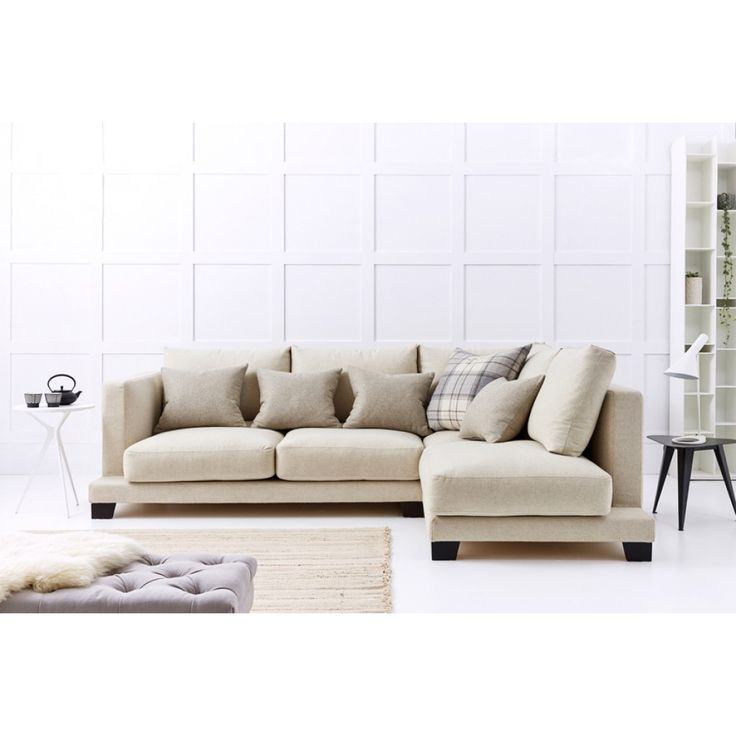 Grace Corner Sofa 2.5 Seater with Chaise Right Hand Facing