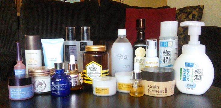 Full Korean skincare routine