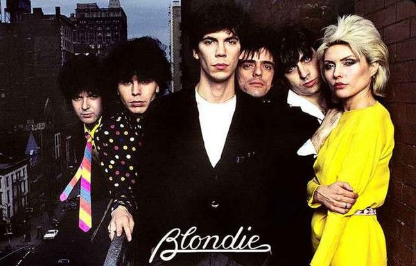 Blondie Band Portrait Poster 11x17 – BananaRoad