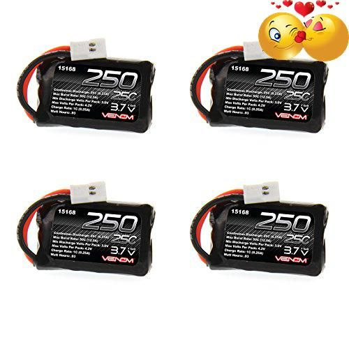 #trendy  Buy in Quantity and Save!  Power your micro sized quad, plane, or heli with the proven quality of #Venom LiPo packs. This 25C 1S 250mAh 3.7V LiPo Air Pa...