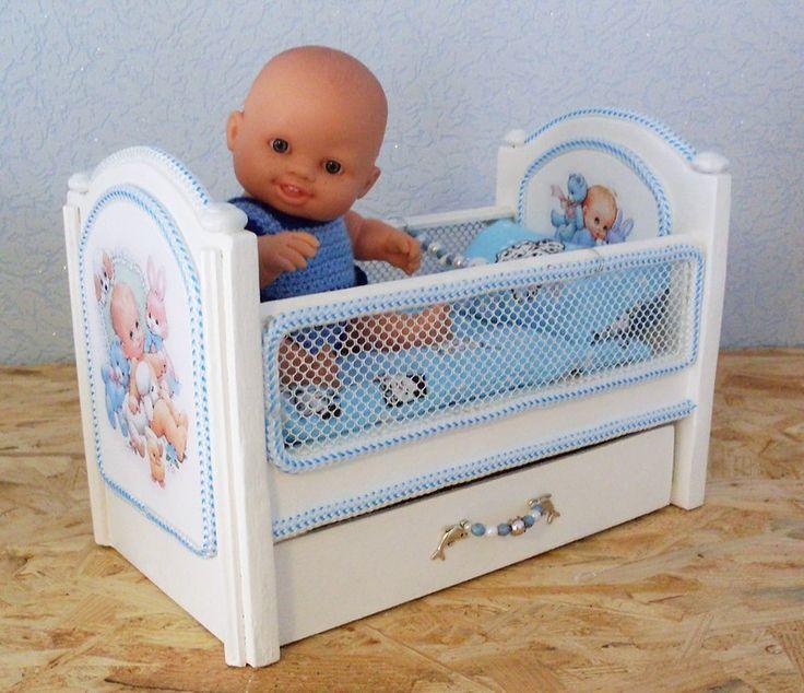 Продолжаю играть не по-детски... Или мебель для моих кукол / Домики для кукол, мебель своими руками. Коляски, кроватки и другое / Бэйбики. Куклы фото. Одежда для кукол