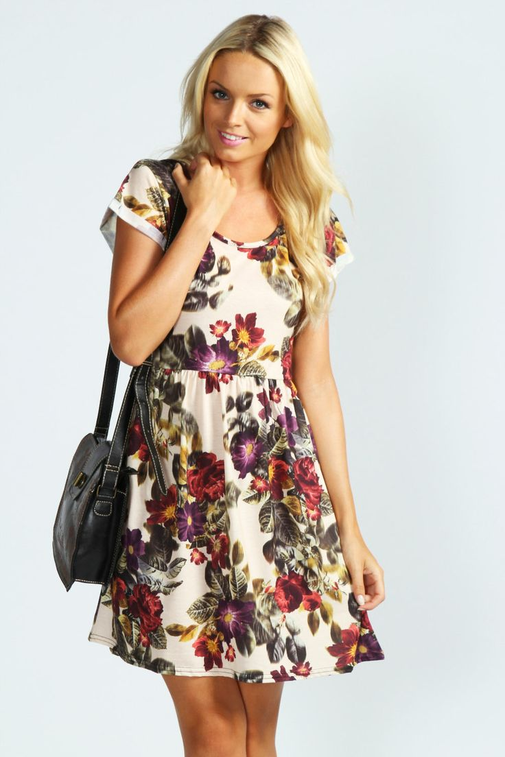 Floral Dress. Fun.