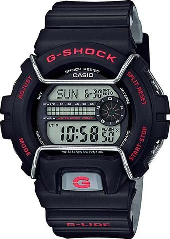 Casio Mens G-Shock GLS-6900 G-LIDE Series Watch (Model No. GLS-6900-1) #glide #gshock