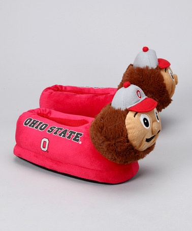 Take a look at this Red Ohio State Mascot Slipper - Women by Primus on #zulily today!
