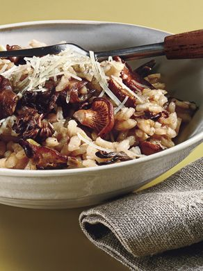 Find the recipe for Wild Mushroom Risotto and other rice/grain recipes at Epicurious.com