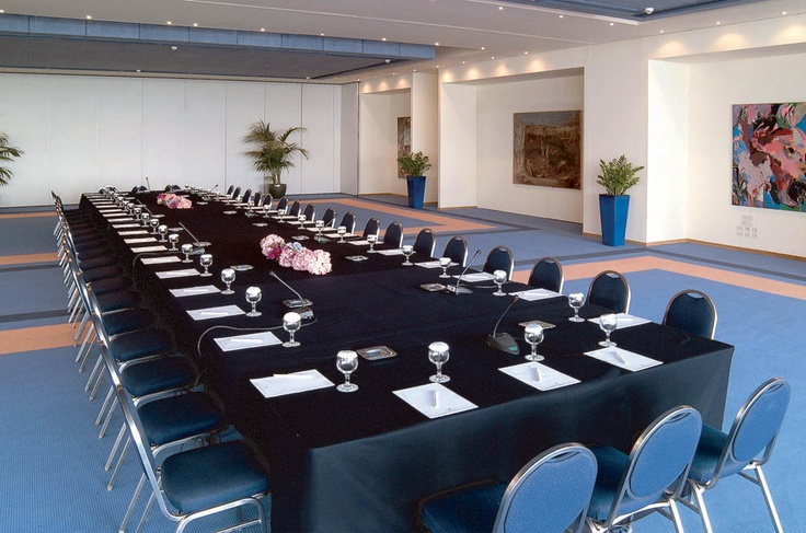 Conference facilities at the Aquis Arina Sand #Greece #Crete