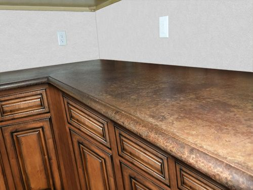 Z Countertop Stain : 1000 Ideas About Stained Concrete Countertops On Pinterest