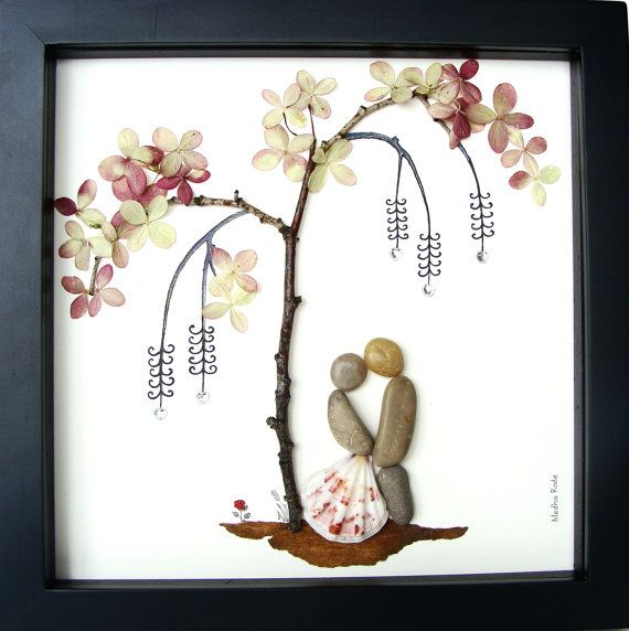 Wedding Gift Unique Engagement Presents Whimsical Couples Art Gifts ...