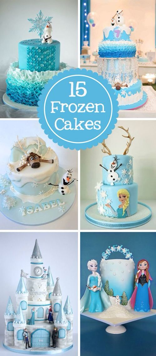 frozen cakes frozen party ideas pinterest disney. Black Bedroom Furniture Sets. Home Design Ideas