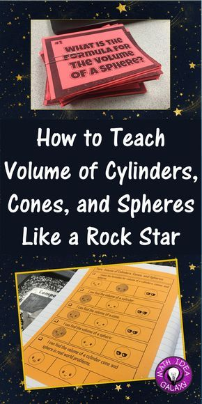 How to help students learn and memorize volume formulas for cylinders, cones, and spheres. Includes 2 great freebies: I Can topic overview perfect for use in math interactive notebooks, and a graphic organizer that helps my students remember the formulas. Enjoy!