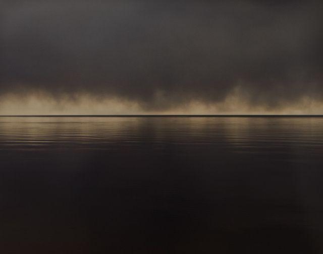 Joel Meyerowitz | Bay/Sky, Lifting Storm (1993) | Available for Sale | Artsy