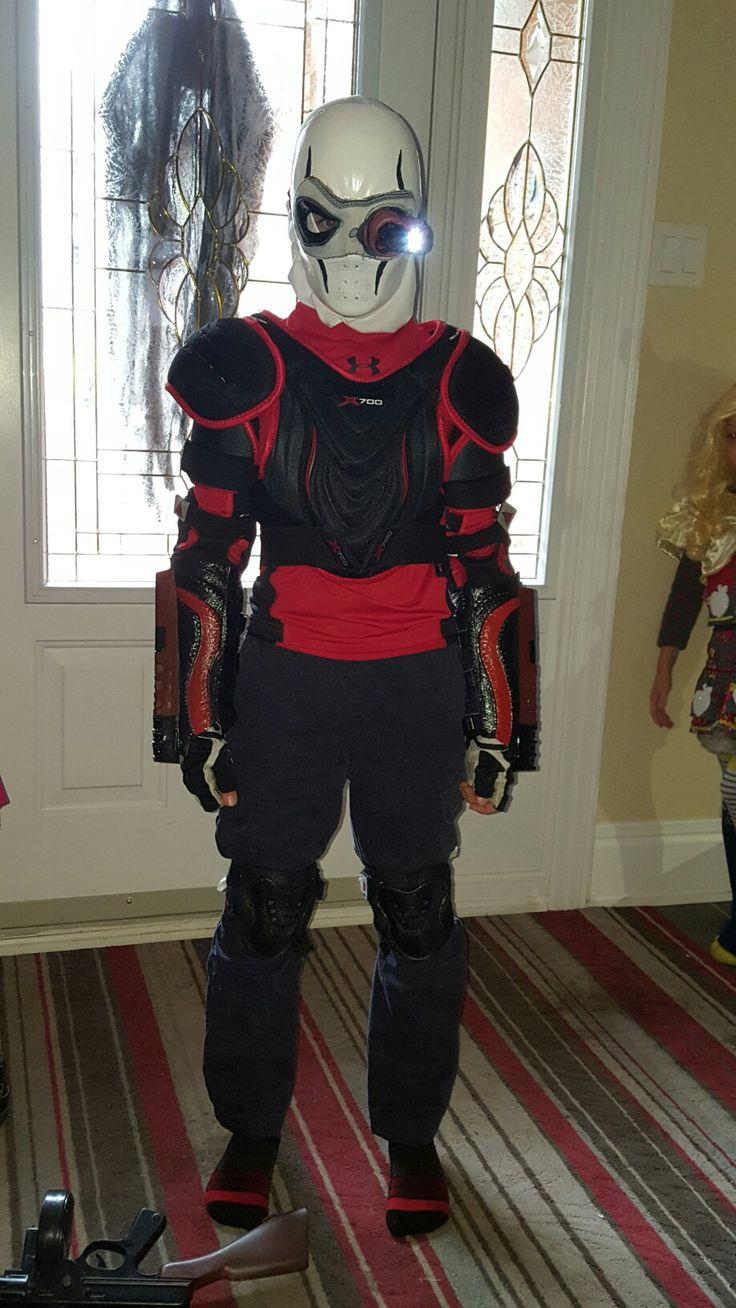Kids DIY Deadshot costume