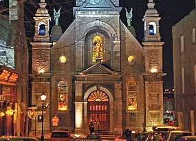 Chapelle Notre-Dame-de-Bon-Secours called the Sailors' Church - 1675 Old Montreal