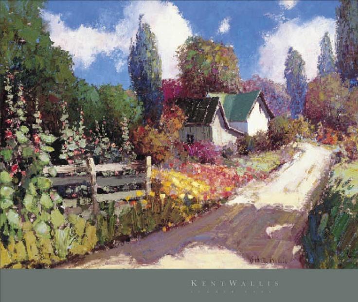 109 Best Kent Wallis Paintings Images On Pinterest