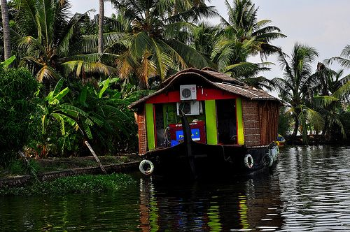 Alleppey Boat House, Kerala (India)