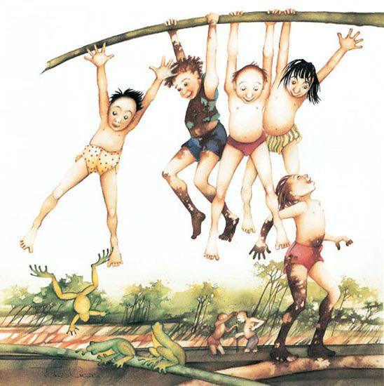 Julie Vivas - '92 Little Bookroom Children's Calendar