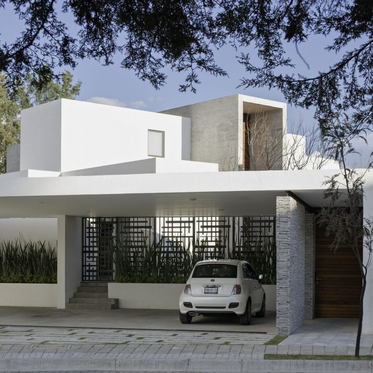 Project modern house by cipriano