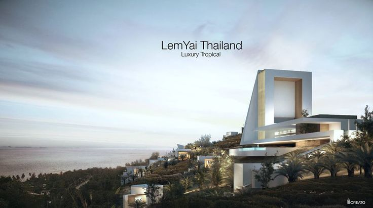 Villa in Thailand by Creato  #villa #facade #luxe #amazing #contemporary #paradise #architecture