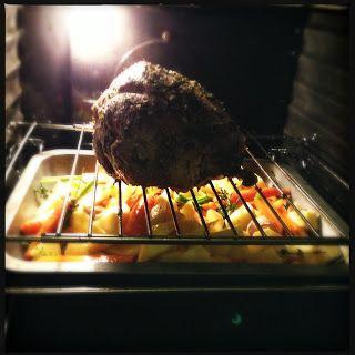 Overheerlijke lamsbout uit de oven met groenten - Francesca Kookt