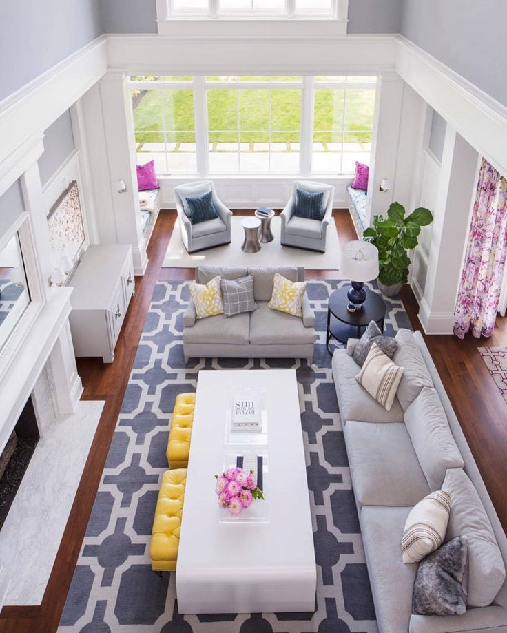 Large Living Room Furniture Part - 24: Layout For Large Rooms · Home Living RoomLarge Living Room FurnitureLarge  ...