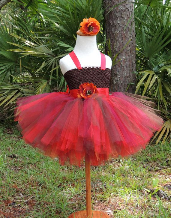 Fall Tutu Dress,Fall Flower Girl Dress, Fall Photo Props, Toddler Tutu Dress on Etsy, $30.00