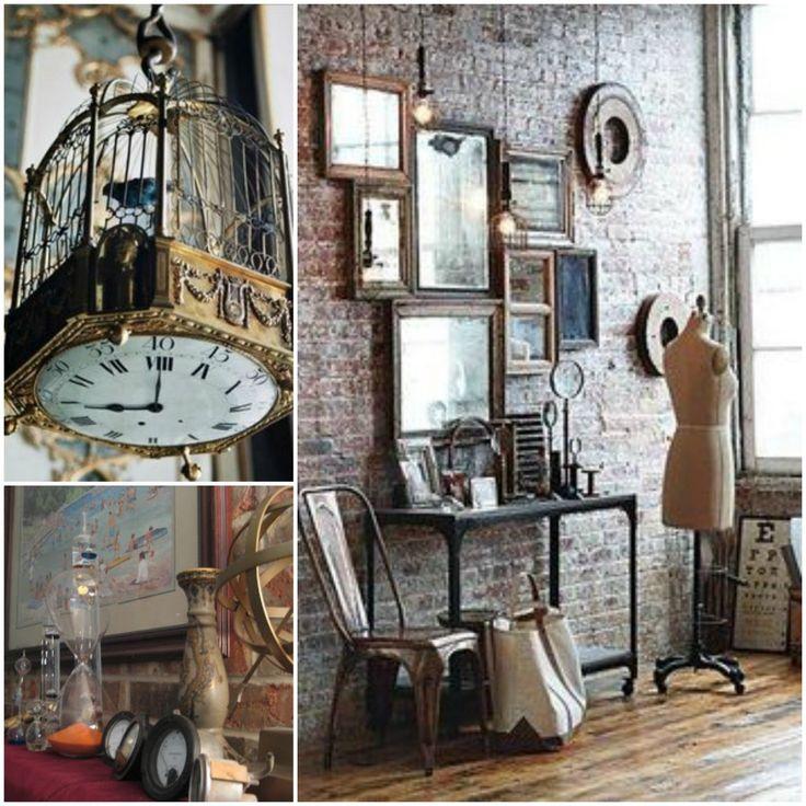 17 best images about steampunk interior design on for Kitchen designs steampunk