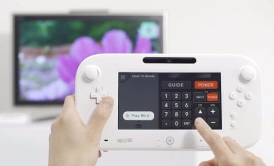 Nintendo Wii U Gamepad Controller
