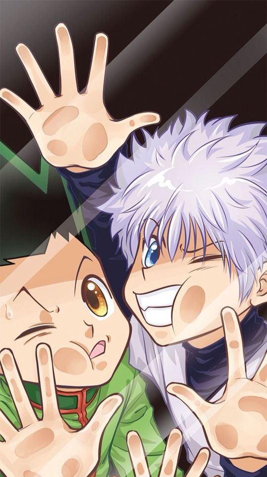 Gon Killua Hunter X Anime Ipod Iphone Wallpaper Or Lock Screen