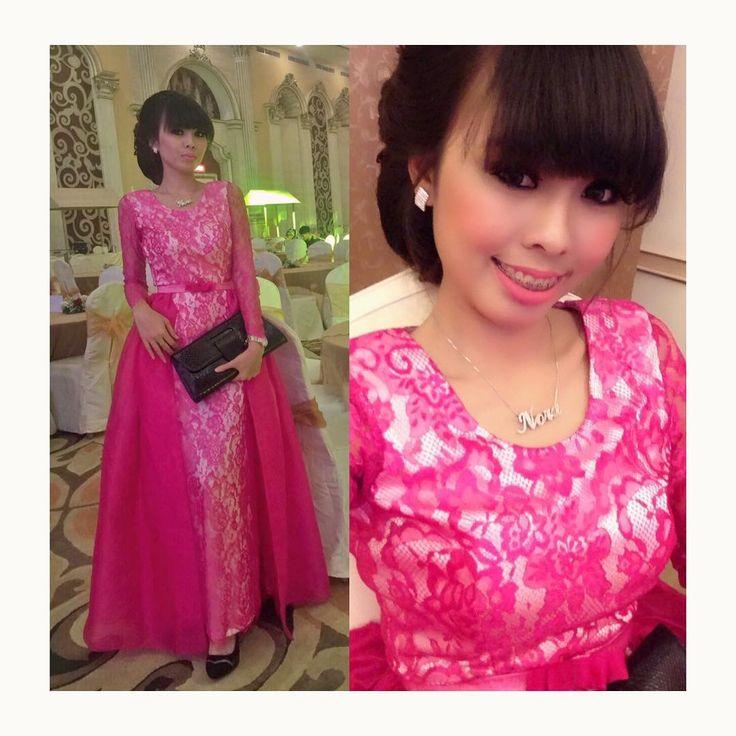 #inspirasikebaya #kebayamodern #gaundankebaya #pinky #dress #weddingparty #bridesmaids