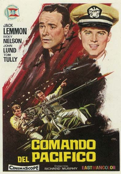 "Comando del Pacífico (1960) ""The Wackiest Ship in the Army"" de Richard Murphy - tt0054453"