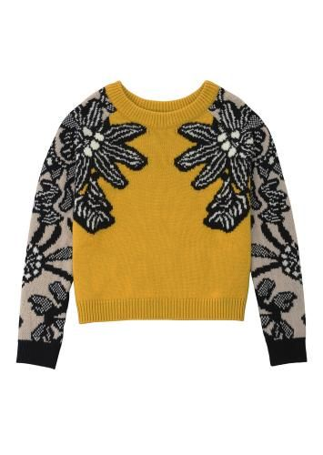 Knitting Inspiration : 商品詳細 MARZIALI Flower Jacquard Knit