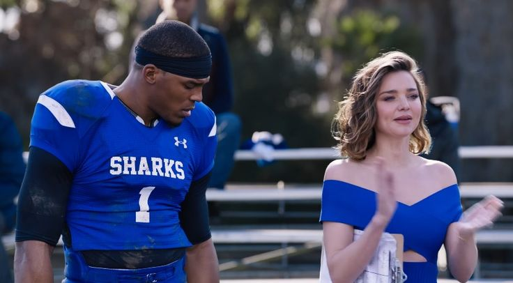 "Cam Newton and Miranda Kerr Star In Buick's 2017 Super Bowl Commercial ""Not So Pee Wee Football"""