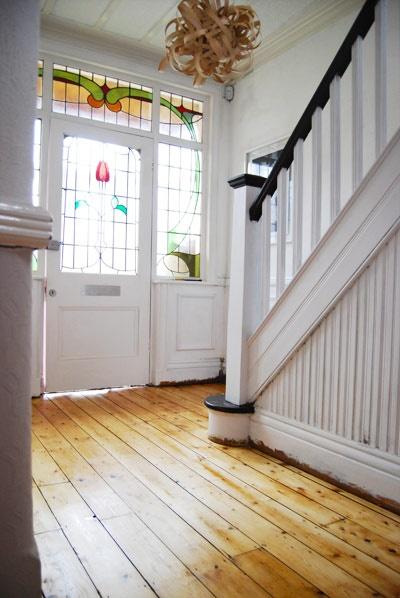 Edwardian Hallway | www.littlehouseonthecorner.com