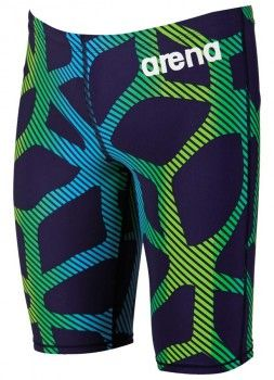 Arena 2016 ST X-Raptor Limited Edition Jammers - Navy Blue / Fluo Green
