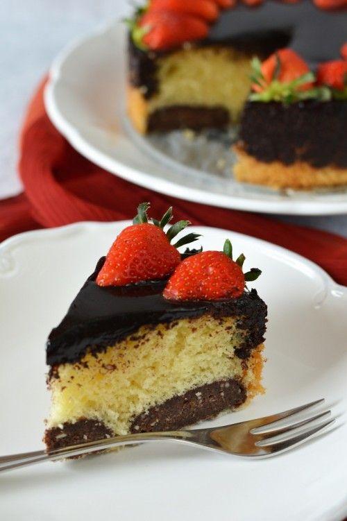 Kakaóstúrógombóc-torta recept