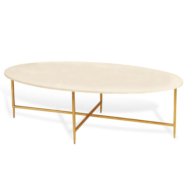Ashlyn Hollywood Regency Gold Cream Marble Oval Coffee Table - 25+ Best Ideas About Oval Coffee Tables On Pinterest Marble Top
