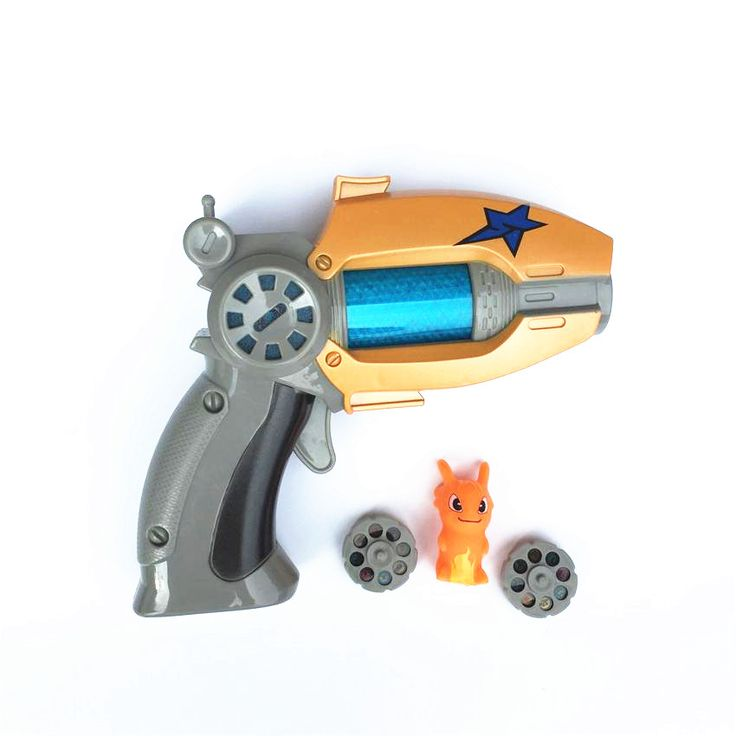 SHINEHENG Kartun Anime Slugterra Terdengar Cahaya Pistol Mainan Memberikan 1 Slugterra Action Figure Boneka Sebagai Hadiah Boy Mainan Pistol Pistol nerf