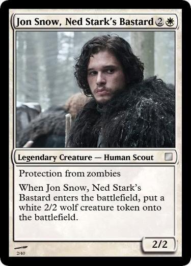 John snow poker