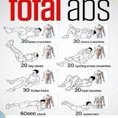 Total Abs Work Out! Recommended by Denise Richardson
