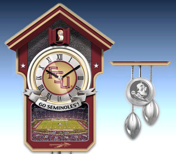 Florida State Seminoles College Football Cuckoo Clock