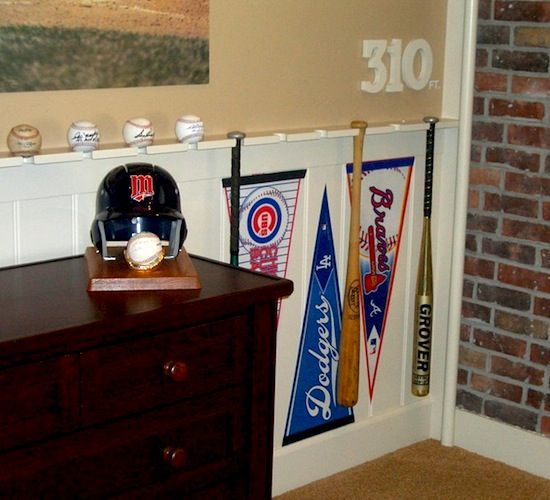 7 best images about boy 39 s room on pinterest bedrooms for Boys baseball bedroom ideas