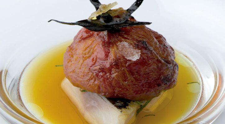 Magnífico tratamiento para el tomate que adquiere una textura nueva, dulce y melosa