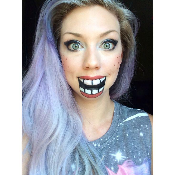21 best face images on Pinterest | Halloween makeup, Halloween ...